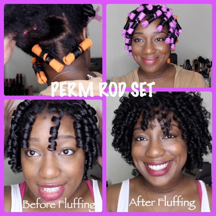 Natural Hair Perm Rod Set Very Detailed